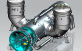 Power Machines created a thermodynamic model of GTE-170 gas turbine