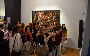 Power Machines supported the opening of an exposition of the St. Petersburg Youth Union of Artists